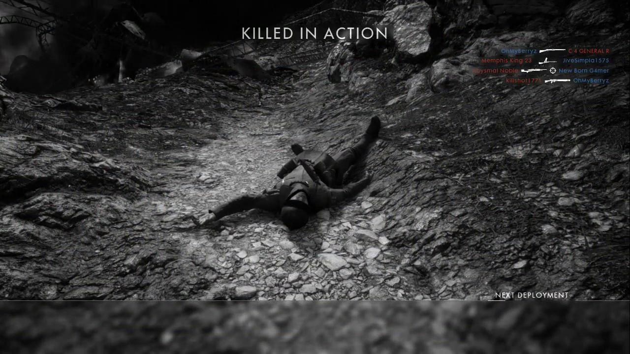 KIA  قتل في المعركة